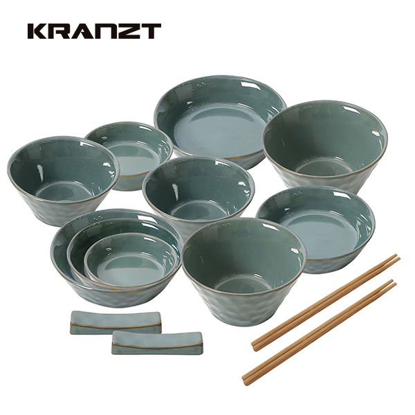 [클란츠] 웨딩 2인 반상기 14P KRZ-1003