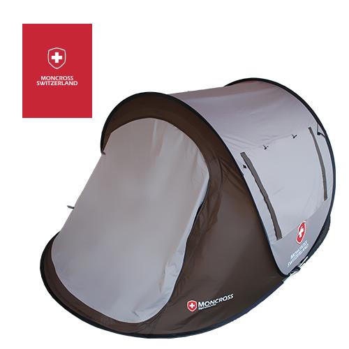 몽크로스 원터치 텐트 3~4인용 (색상택1-다크브라운,올리브 그린) 이미지