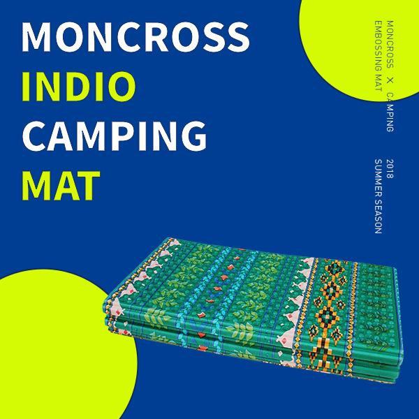 [몽크로스] 접이식 캠핑매트 2단, PMC-1012